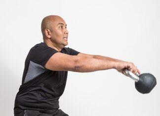 trening nóg siłownia